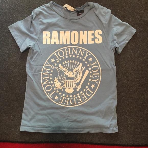 Hm Shirts Tops Kids Size 68 Ramones Tee Poshmark